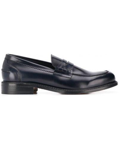 Лоферы синий классические Berwick Shoes