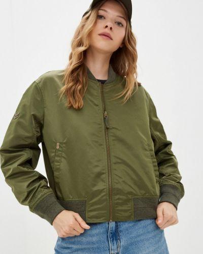 Зимняя куртка хаки Superdry