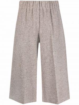 Шерстяные брюки - белые Seventy