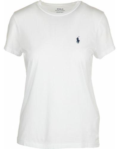 Biała t-shirt Ralph Lauren