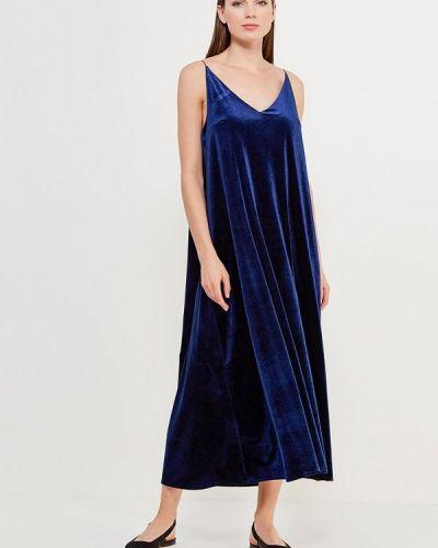 Синее платье прямое Alina Assi