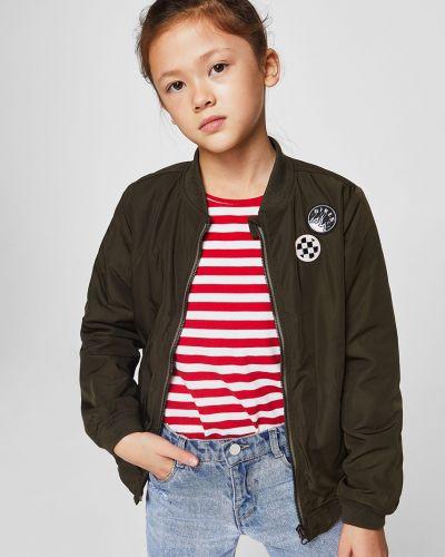 Куртка с подкладкой с поясом Mango Kids