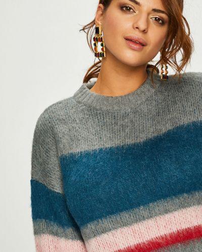 Вязаный свитер в полоску шерстяной Pieces