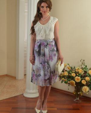 Шифоновая юбка миди Salvi-s