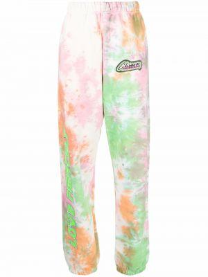 Зеленые спортивные брюки Chiara Ferragni