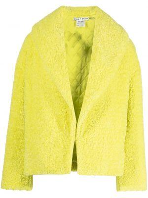 Куртка из искусственного меха - зеленая Alice+olivia