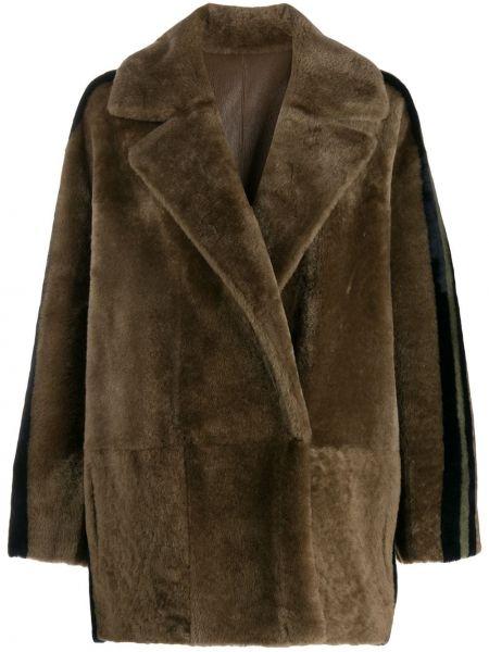 Куртка оверсайз двусторонняя с воротником Blancha