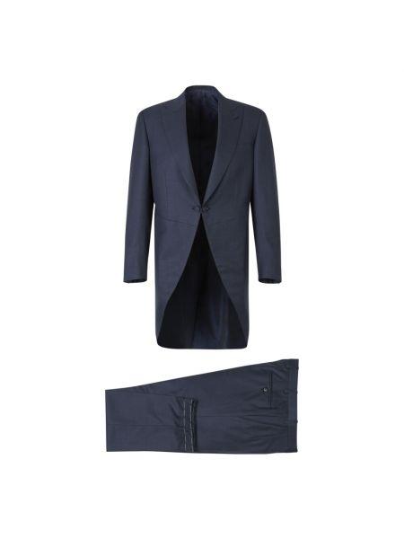 Niebieski garnitur Brioni