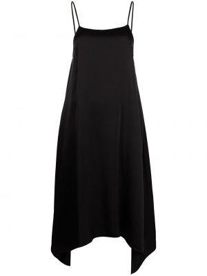 Черное платье расклешенное Equipment