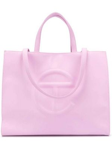 Różowa torebka skórzana Telfar