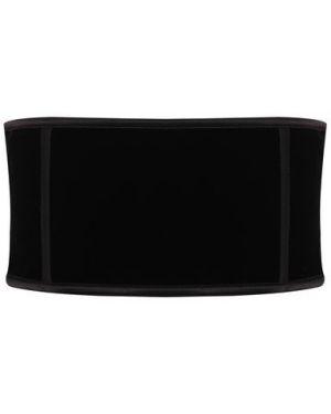 Текстильный черный широкий ремень свободного кроя с поясом Tom Ford