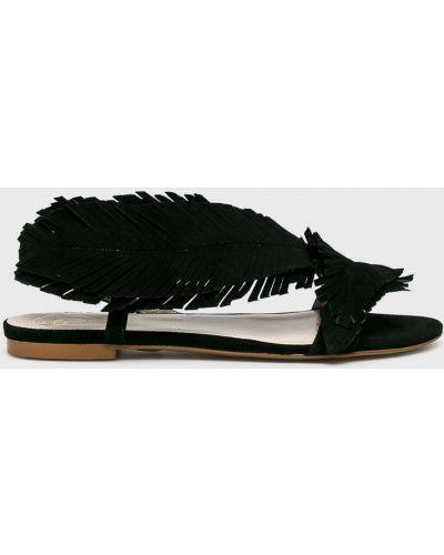 Кожаные сандалии - черные Baldowski