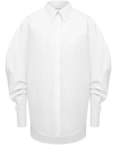 Хлопковая белая рубашка Iceberg