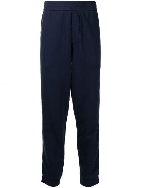 Niebieskie spodnie bawełniane Kent & Curwen