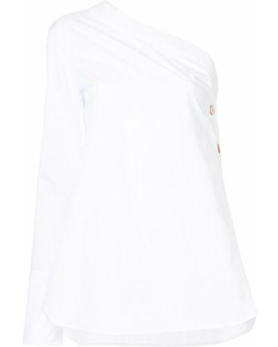 Блузка белая асимметричная Monographie