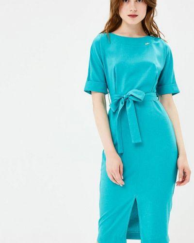 Платье бирюзовый Bezko