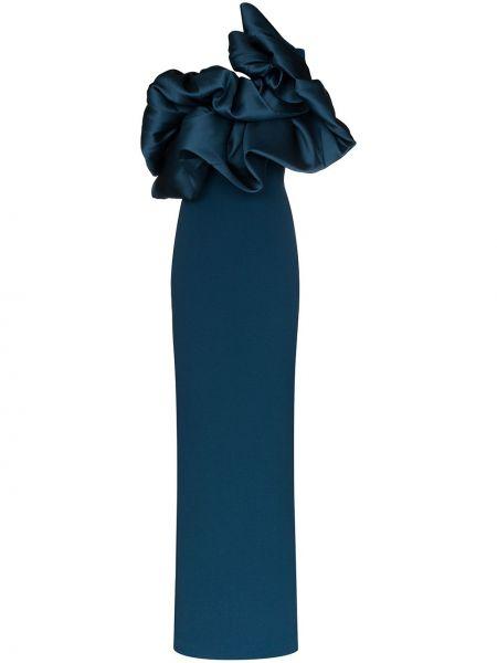 Платье макси на одно плечо платье-комбинация Solace London