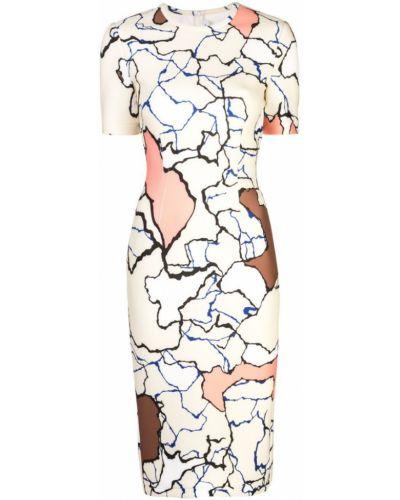 Платье миди мини на молнии Yigal Azrouel