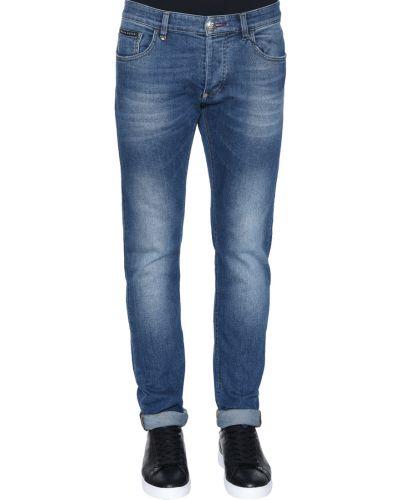 Голубые джинсы Philipp Plein