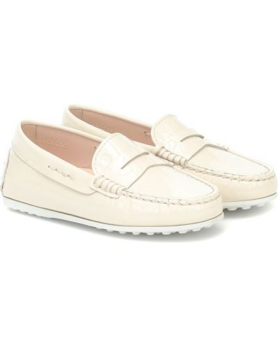 Skórzany loafers Tod's Junior