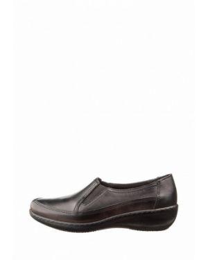 Кожаные туфли осенние черные Inblu