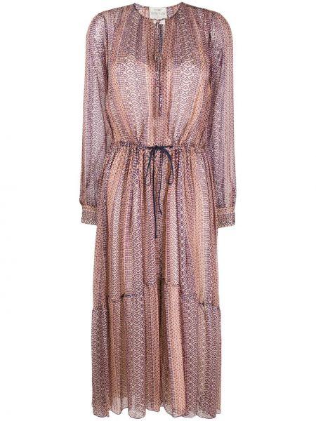 Платье с рукавами длинное Forte Forte