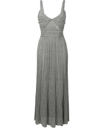 Платье серое серебряный Antonino Valenti