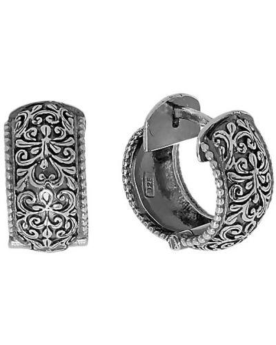 Серебряные серьги серебряный английский Den'o