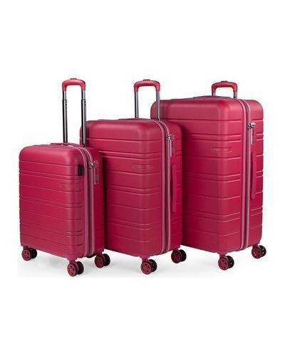Różowy walizka Jaslen