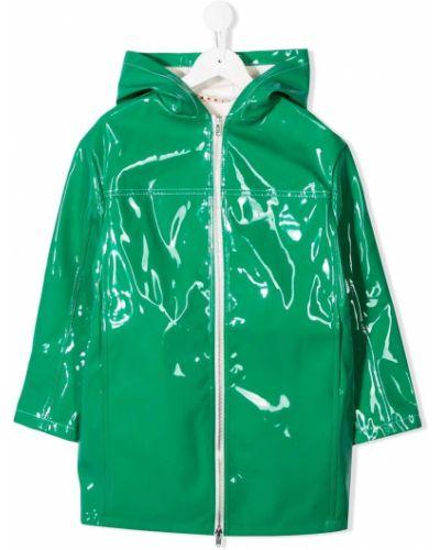 Płaszcz przeciwdeszczowy - zielony Marni Kids