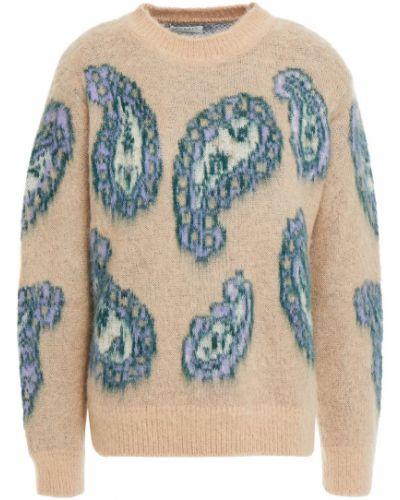 Шерстяной свитер - бежевый Sandro