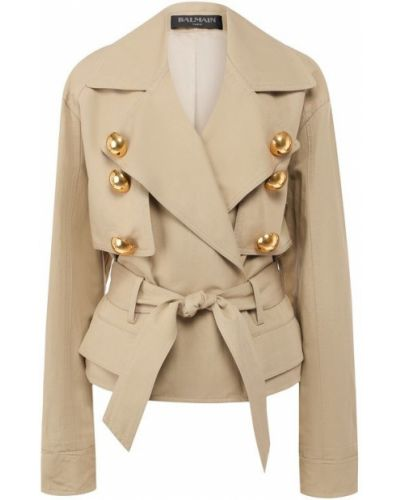 Куртка хлопковая с подкладкой Balmain