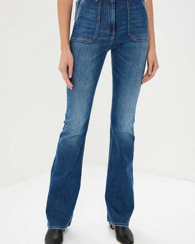 Расклешенные джинсы широкие Elisabetta Franchi