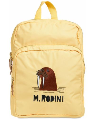 Нейлоновый рюкзак - желтый Mini Rodini