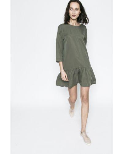 Платье мини однотонное свободного кроя Medicine