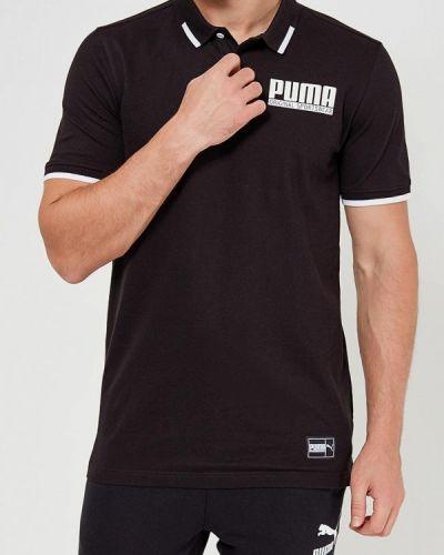 Черная футболка Puma
