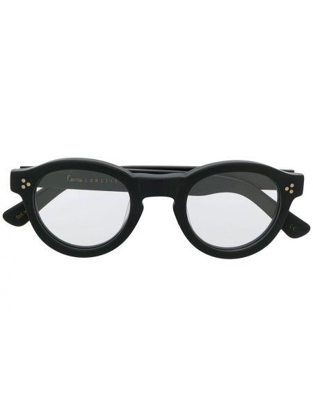Oprawka do okularów okrągły czarny Lesca