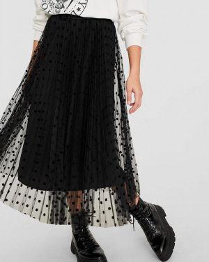 Плиссированная юбка Stradivarius