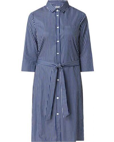 Niebieska sukienka bawełniana Seidensticker