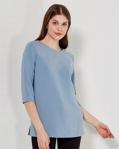 Голубая блузка польская Echo