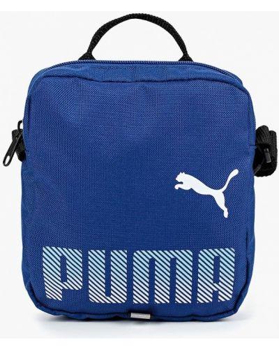 Синяя сумка через плечо Puma