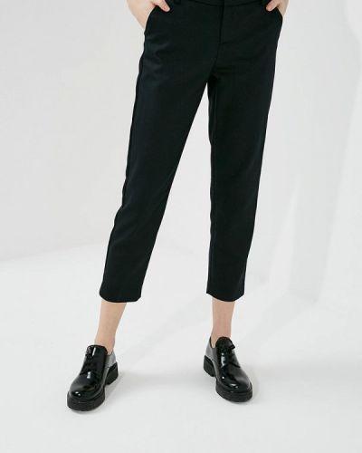 Черные зауженные брюки Alice + Olivia