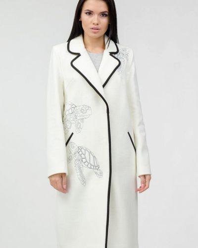 Белое пальто Raslov