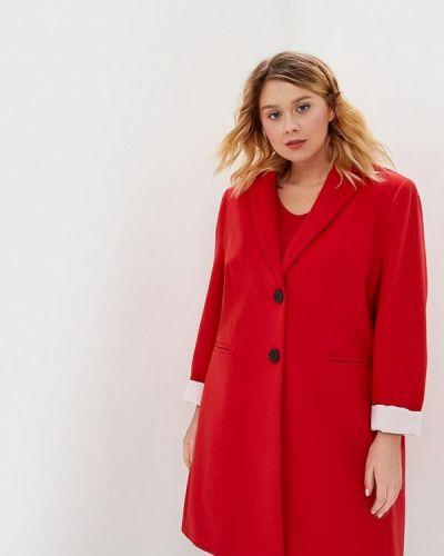 Пальто - красное Samoon By Gerry Weber