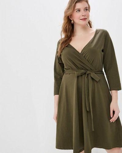 Повседневное платье весеннее хаки Dorothy Perkins Curve