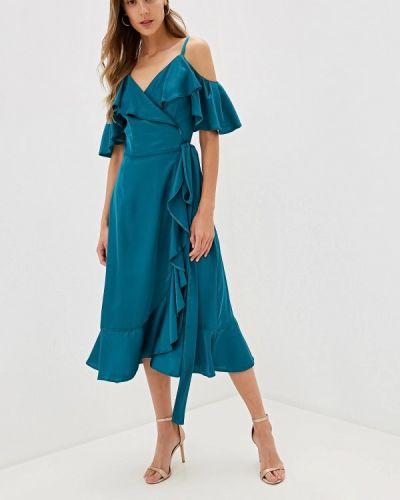 Платье с запахом осеннее Imocean