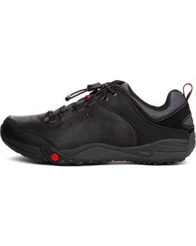 Кожаные полуботинки спортивный на шнуровке Merrell