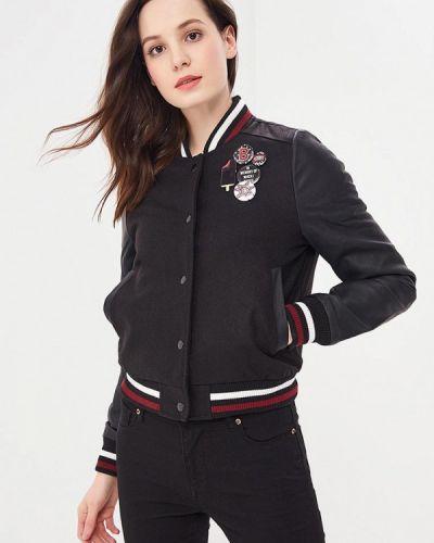Черная утепленная куртка Brave Soul