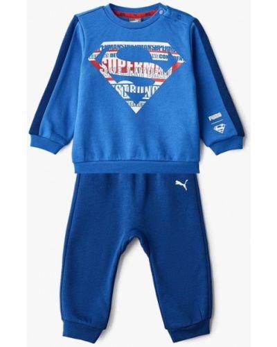 Синий спортивный костюм Puma