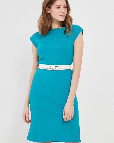 Платье весеннее бирюзовый Conso Wear